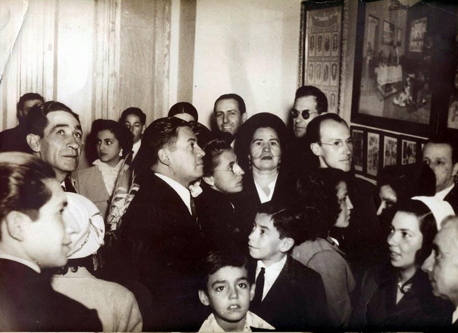 Exposición Científica del Botánico Naturópata Profesor Narváez 1950