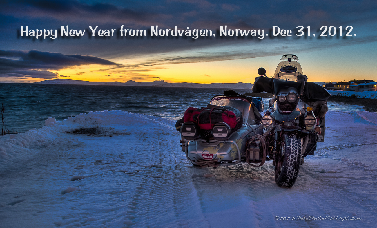 i would like to wish all my friends and followers alike a very happy new year for 2013 and a very special thank you from nordvgen in nordkapp commune