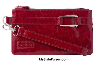Miche Red Patent Wristlet ~ November 2012