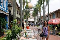 Barrio musulmán de Singapur.