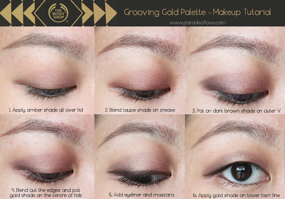 Fallwinter Christmas Makeup With The Body Shops Limited Edition