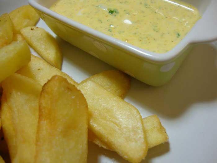 Receita de Molho Delicioso para Batatas Fritas