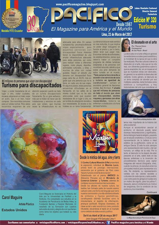 Revista Pacífico Nº 320 Turismo
