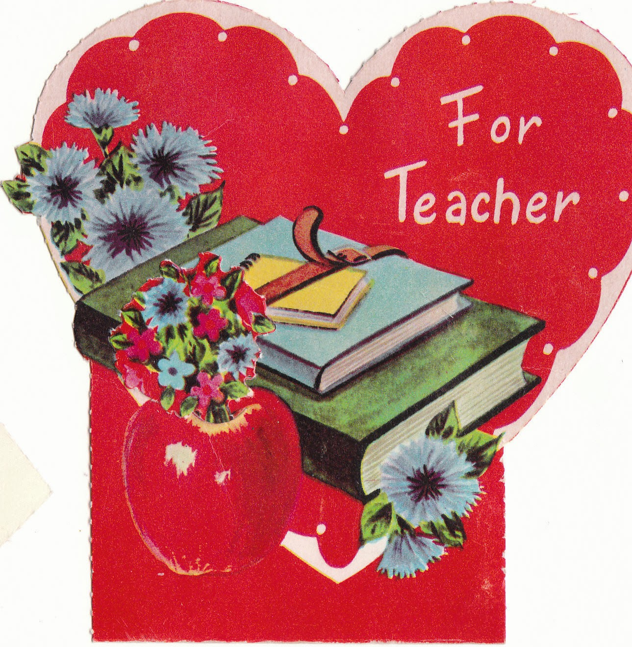 The Estate Sale Chronicles Valentines Day Traditions – Anonymous Valentine Card