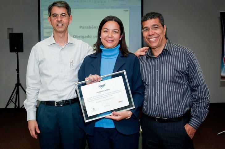 Premiação Anual dos Motoristas Socialmente Responsáveis da TQUIM Transportes - 13/08/2011