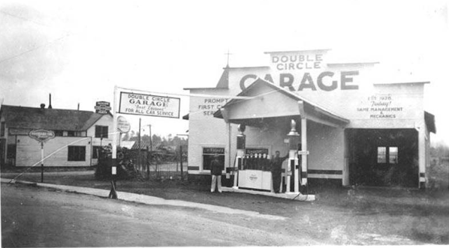 Double Circle Garage