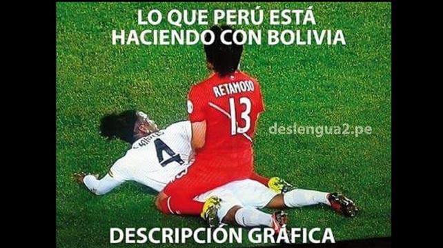 Memes más llamativos de la derrota de Bolivia ante Perú