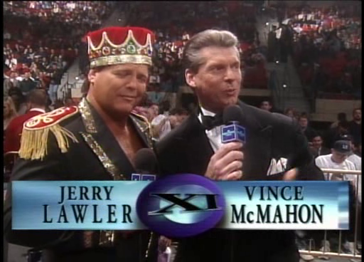 WWF / WWE: Wrestlemania 11 - Jerry Lawler and Vince McMahon were our commentators for the show