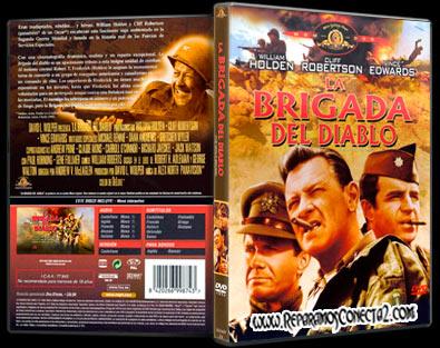 La Brigada del Diablo [1968] Caratula