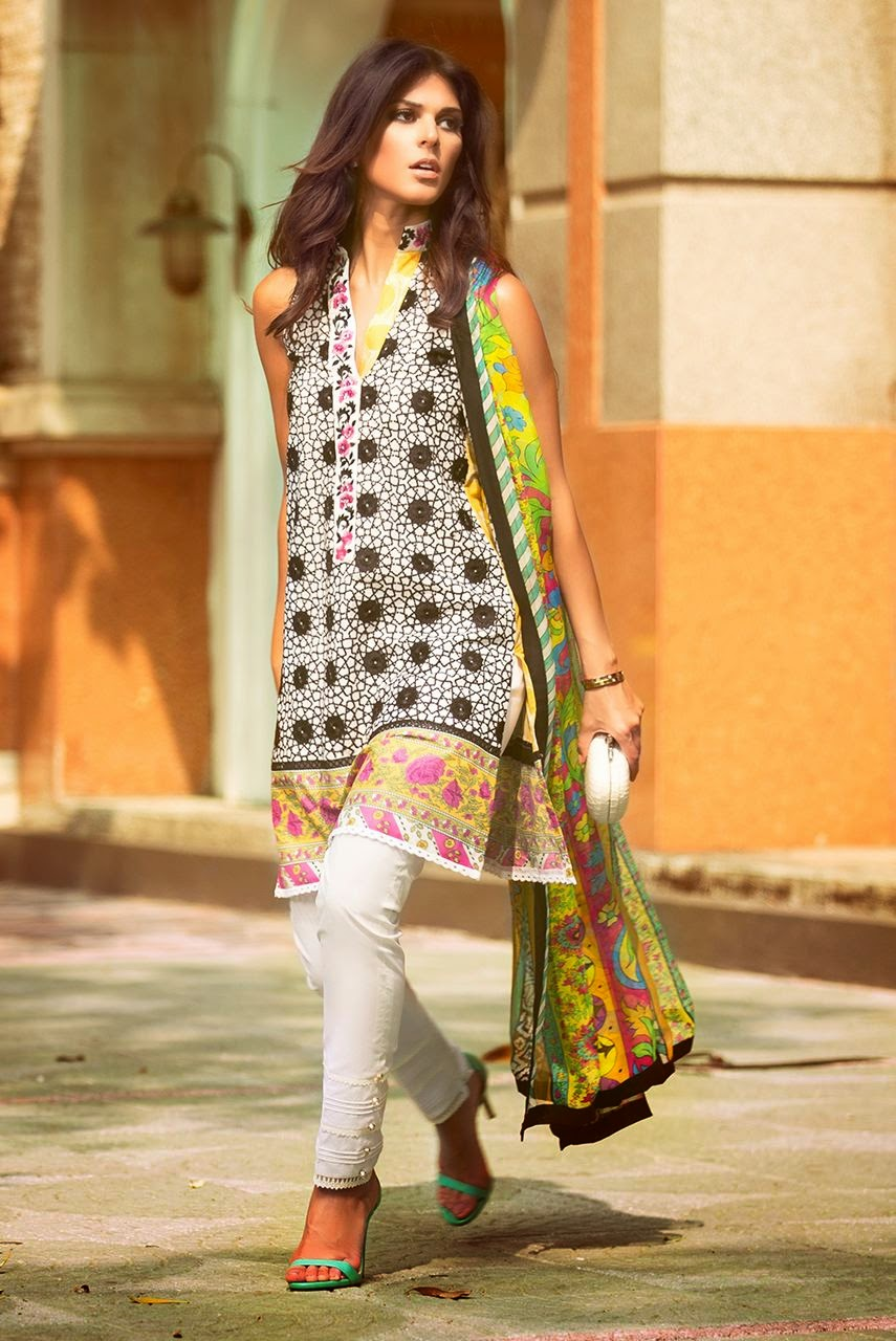 Kamal summer collection lawn