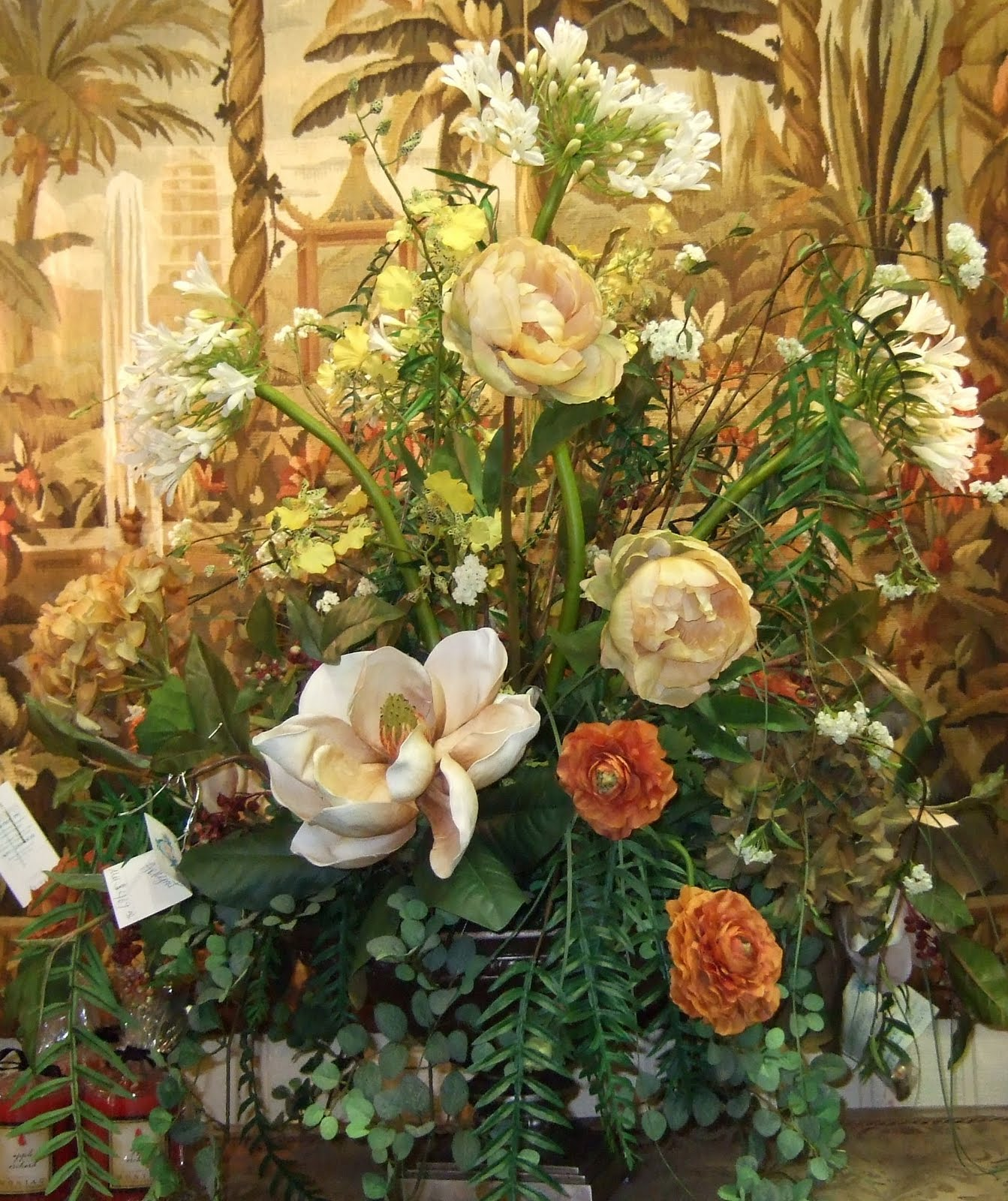 Ana silk flowers pictures luxurious large floral