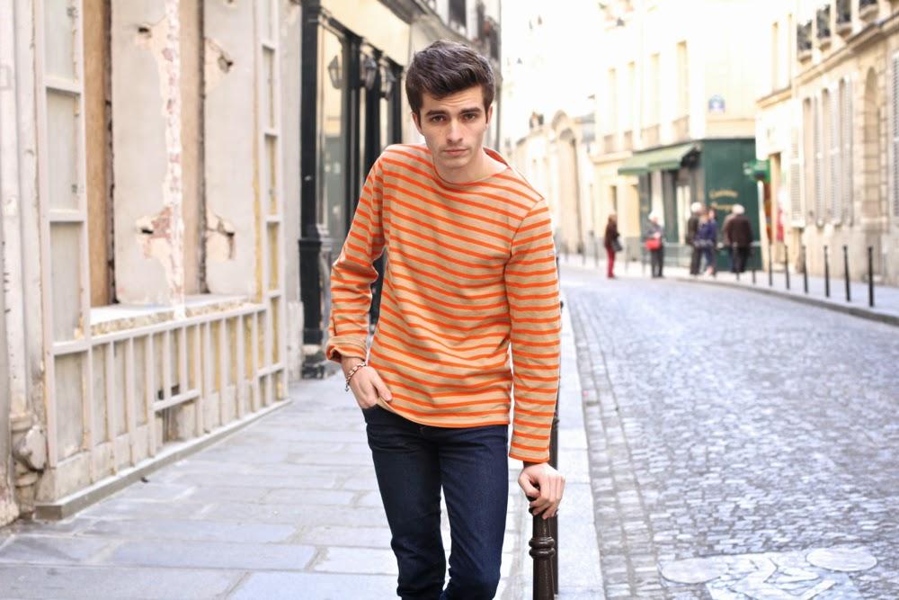 Saint-James_Marinière_Hoalen_Blouson-Mouton-Parka_Jeans-Slim_BLog-Mode-Homme-Paris-Preppy-Style_Mensfashion1
