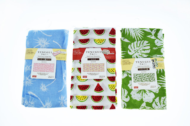 daiso japan hand towels