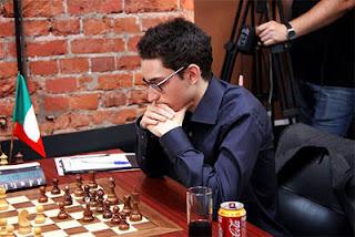 Echecs à Moscou : Fabiano Caruana (2774) au Mémorial Tal 2013
