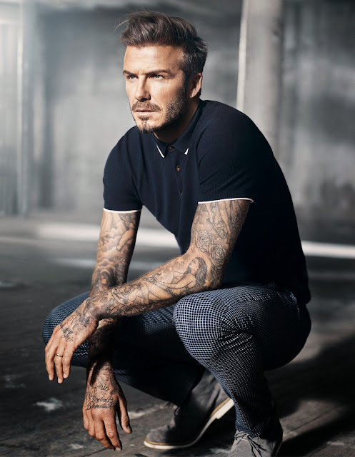mod-like polo shirt by modern essentials selected by david beckham at H&M