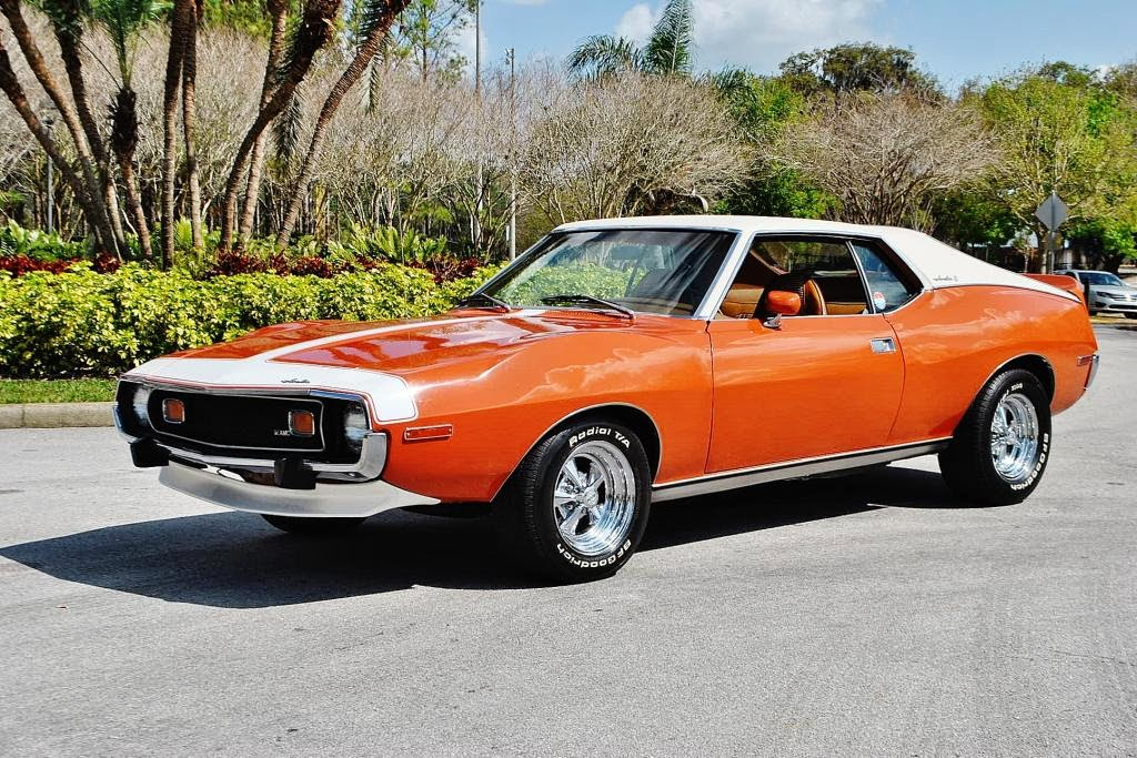 All american classic cars 1974 amc javelin amx 2 door coupe for All american classics