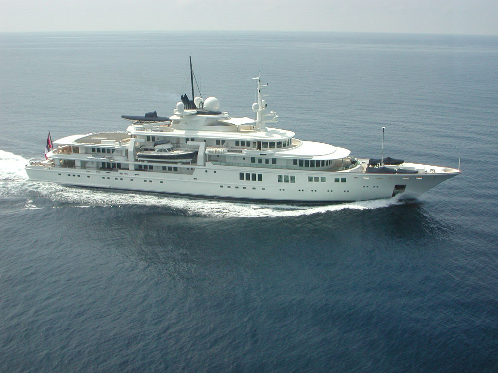 Superyacht TATOOSH starboard