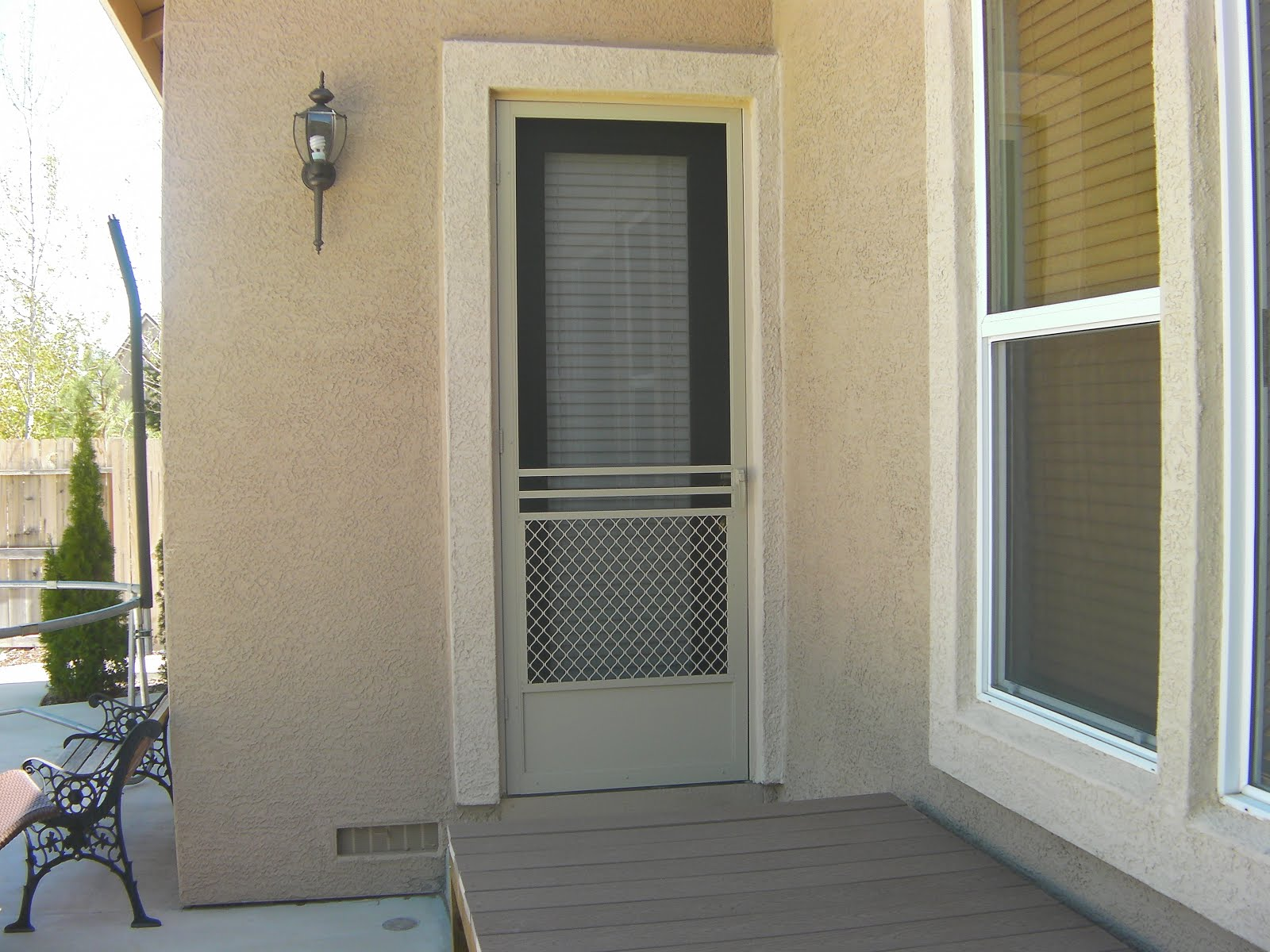 Quality Swinging Screen Doors...