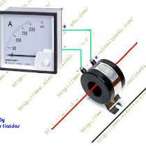 ammeter wiring diagram ammeter image wiring diagram how to wire ammeter for dc and ac ampere measurement on ammeter wiring diagram
