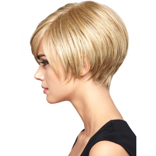 Women Cute Short Bangs Haircut for Fine Hair 2016