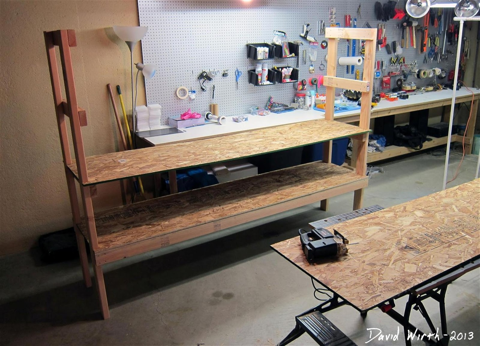 Making A Wood Shelf, Easy, Plans, Instructions, Directions, How To