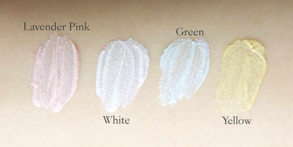 Koh Gen Do Makeup Color Base Swatches