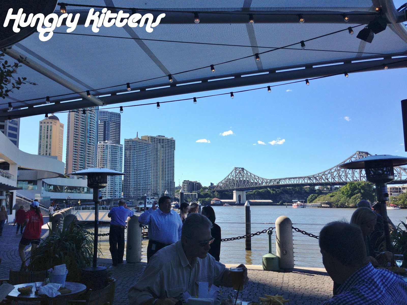 Hungry Kittens: Lunch at Riverbar and Kitchen