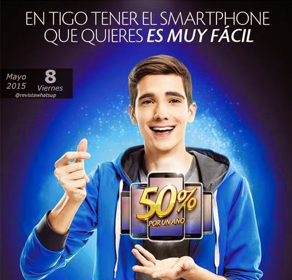 Smartphones-Tigo-50%-descuento- primer-año