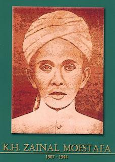 gambar-foto pahlawan nasional indonesia, KH.Zainal Moestofa