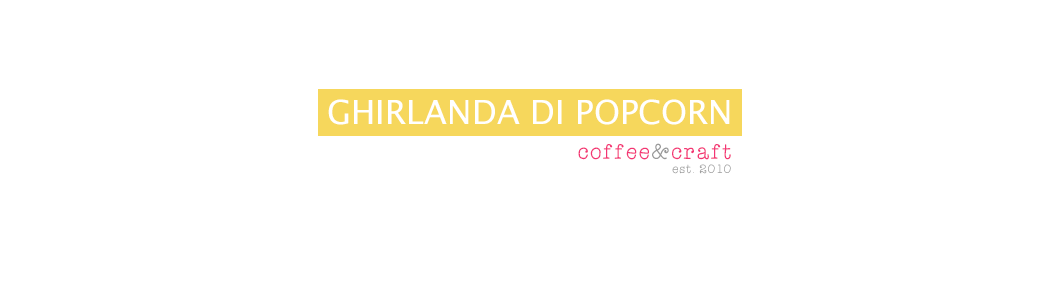 Ghirlanda di Popcorn | Coffee & Craft