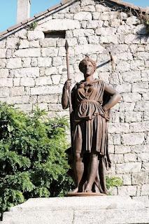 Aullène : statue de la Liberté