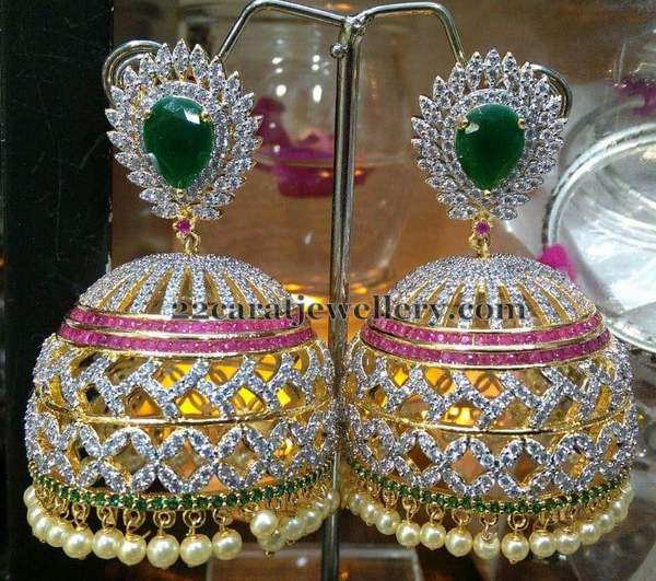 Mind blowing Jhumkas in Imitation