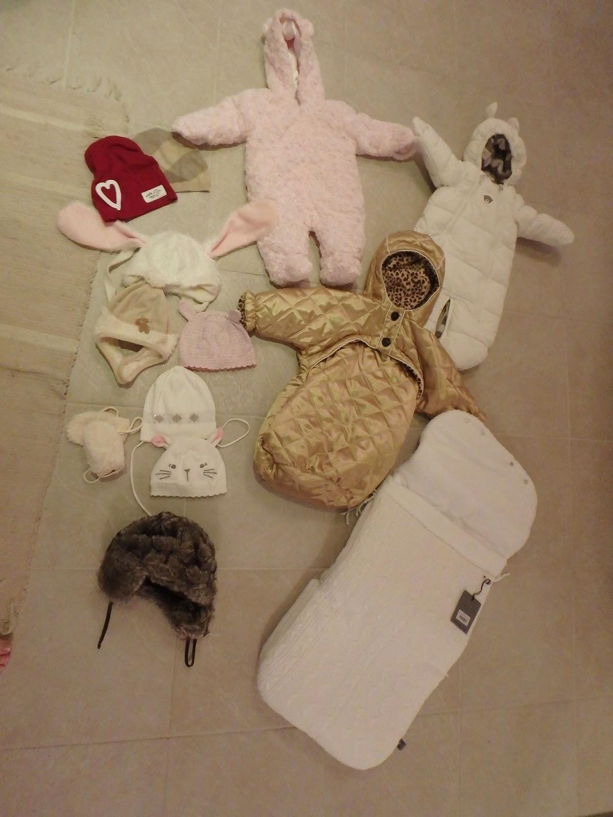 Mitä vaatteita talvivauvalle