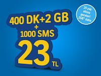 Turkcell'den Olay 2GB Paketi