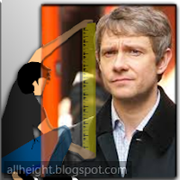 What is Martin Freeman's height?