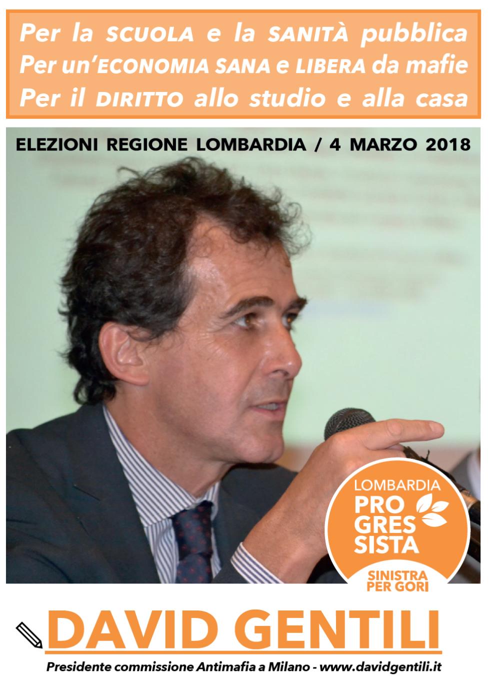 Regione Lombardia 2018