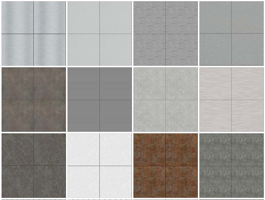 seamless textures cladding metal panels 1 download tileable