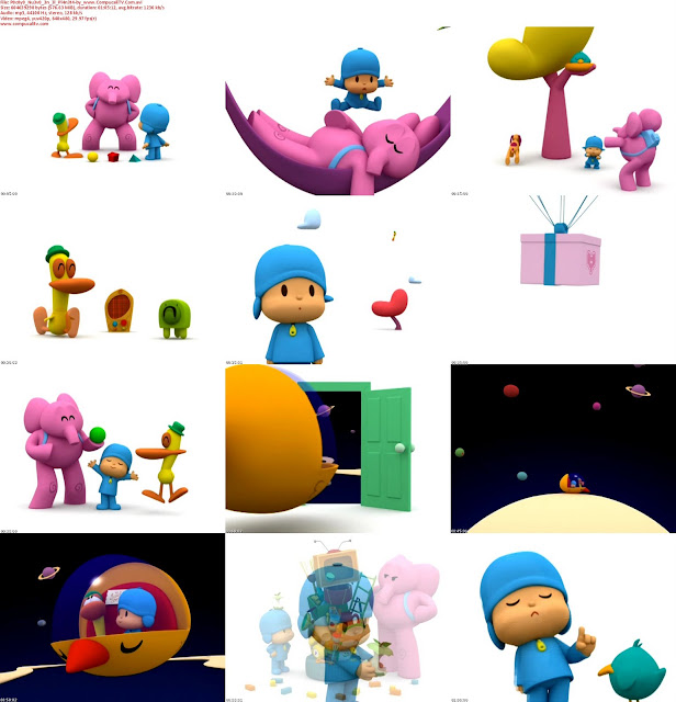 Image Result For Pocoyo And Alien