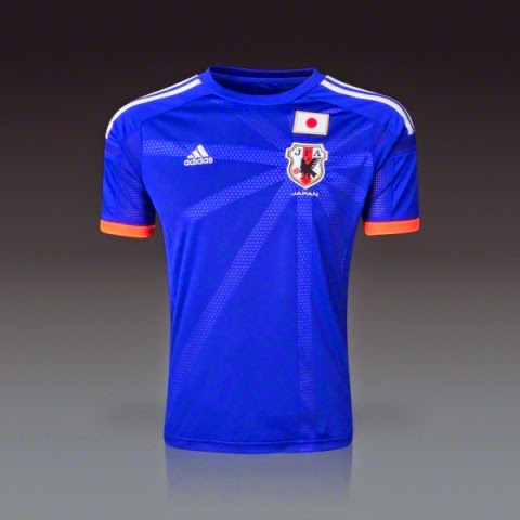 JAPAN JERSEY WORLD CUP 2014 GRED AAA
