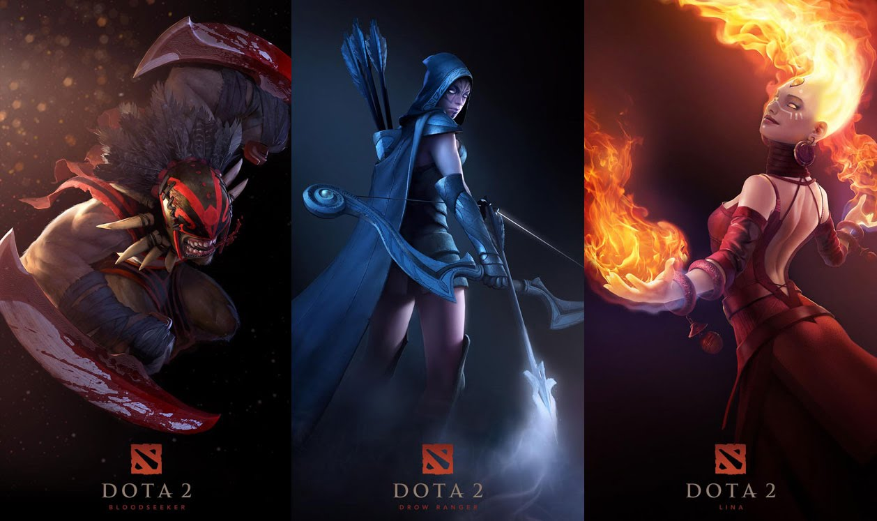 Today via the dota 2 blog that the game will be free to play