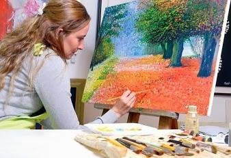 cosas de mujeres 2 aprender a pintar al leo