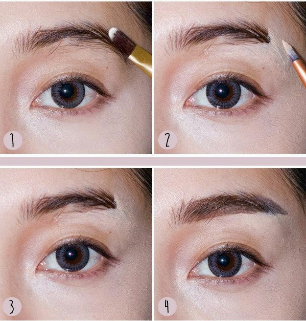 straight-brows-asian-makeup-tutorials