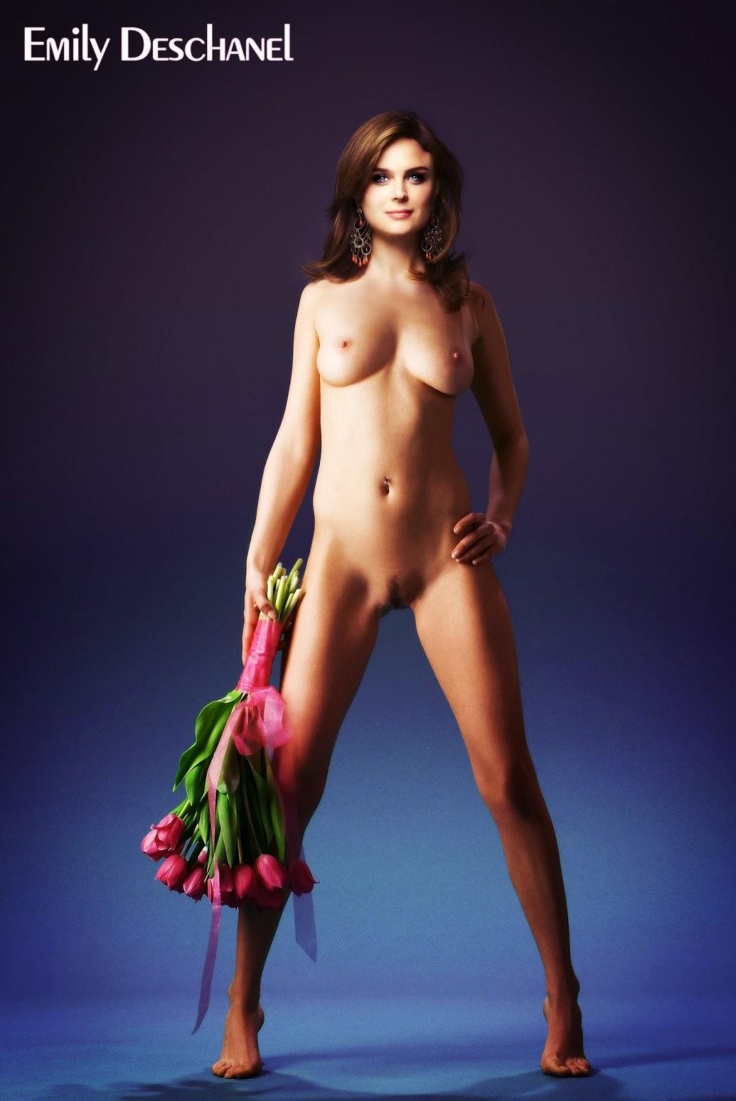 Nackt Bilder : Emily Deschanel Original Nude Pics   nackter arsch.com