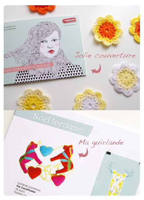 Selection CocoFlower dans le lovebook Dawanda 2012/13