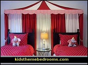Decorating theme bedrooms maries manor creative windows for Circus themed bedroom ideas