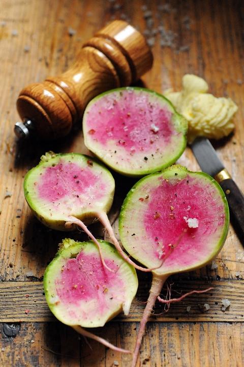 Dorian mais pourquoi est ce que je vous raconte a le radis grenadine est mon - Quand cueillir les radis ...