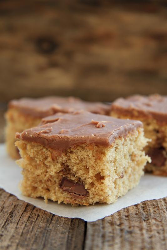 Ciasto z masła orzechowego i czekolady