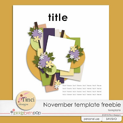 Pickle Barrel November and freebies