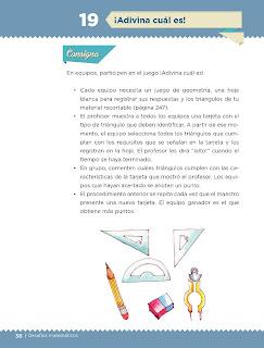 Apoyo Primaria Desafíos matemáticos 4to grado Bloque I lección 19 ¡Adivina cuál es!