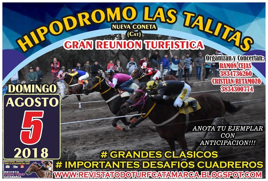 LAS TALITAS 05/08/2018
